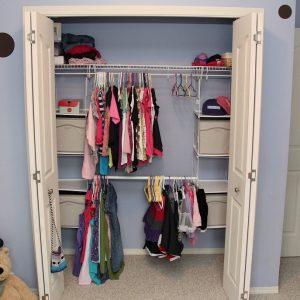 Home Depot #ProjectCloset: Rubbermaid Closet Helper