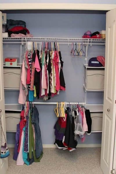 Home Depot #ProjectCloset: Rubbermaid Closet Helper
