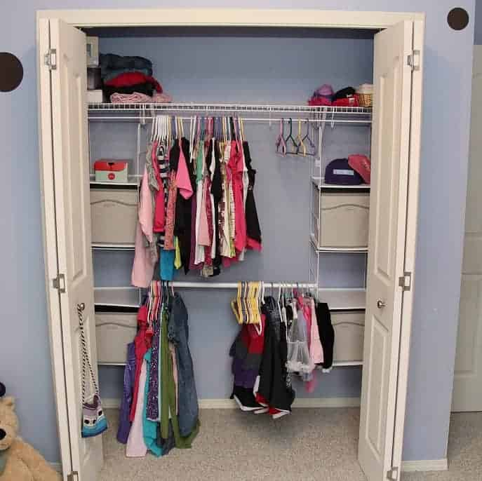 home depot canada closet organization project