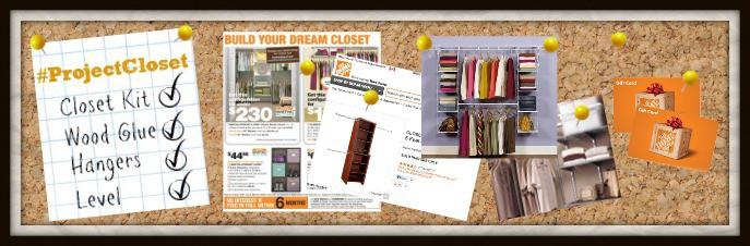 home depot canada closet organization projectcloset myorganizedchaos
