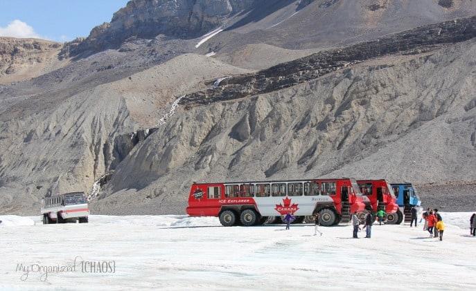 ice explorer columbia glacier adventure alberta travel