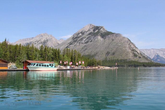lake minnewanka boat tour