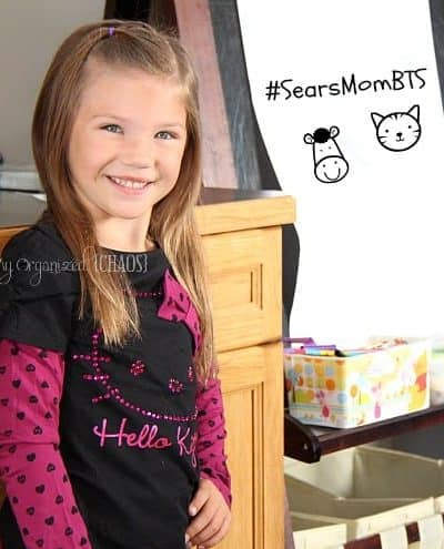 Back to School Shopping with Sears! #SearsMomBTS