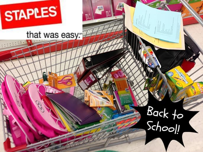 staples canada back to school shopping