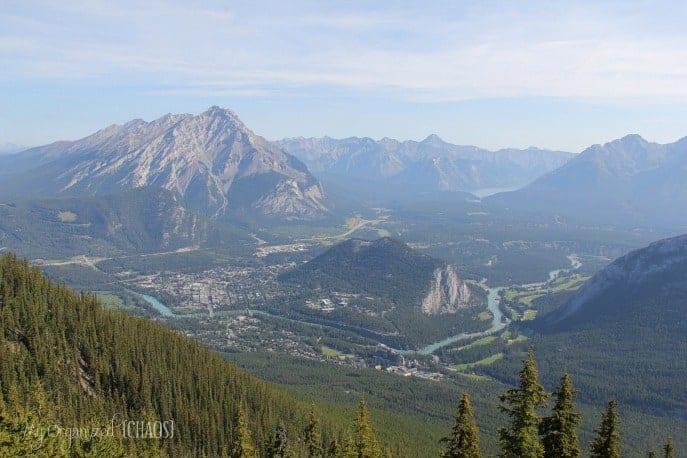 sulphur mountain gondola banff