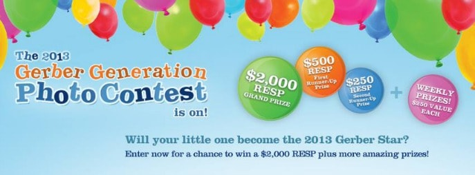 Start bragging with the 2013 Gerber Generation Photo Contest {giveaway