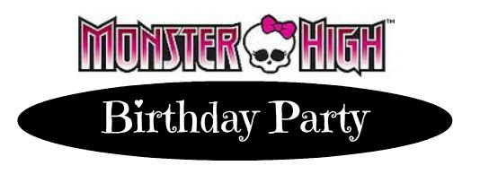 Monster High Birthday Party Ideas myorganizedchaos