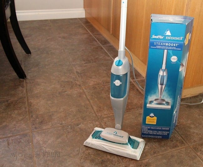 Swiffer BISSELL SteamBoost review giveaway pgmom myorganizedchaos