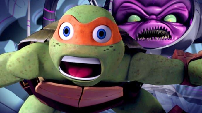Teenage Mutant Ninja Turtles- Ultimate Showdown DVD review giveaway
