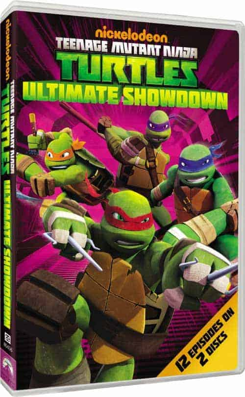 Teenage Mutant Ninja Turtles: Ultimate Showdown DVD