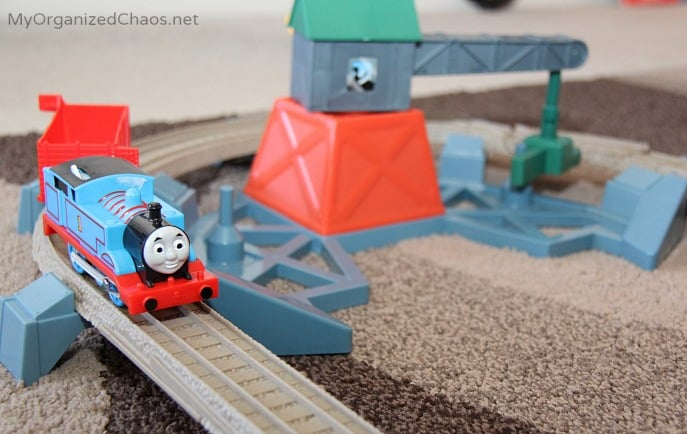 Thomas Friends TrackMaster Castle Quest review fisherpricemoms