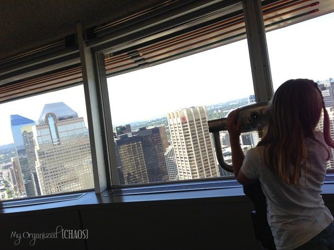 calgary views tower tour alberta travel