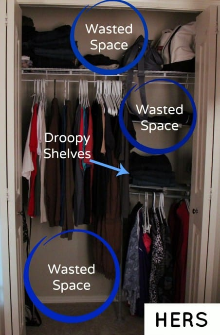 home depot closet organization products