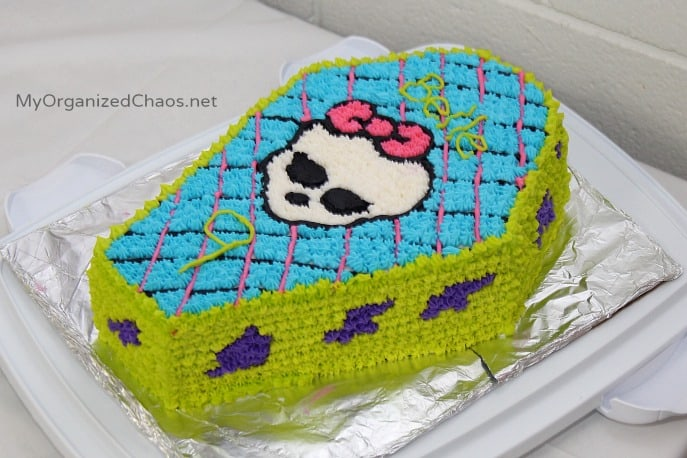 monster high birthday party cake