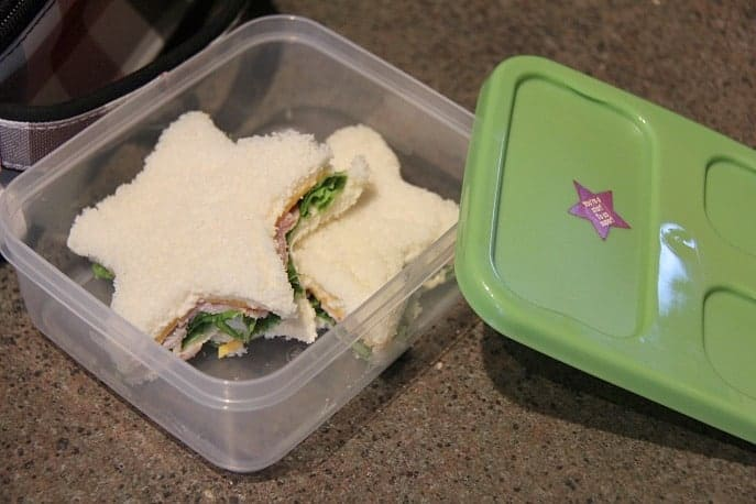 school lunch sandwiches