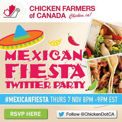 Come to the #MexicanFiesta Twitter Party!