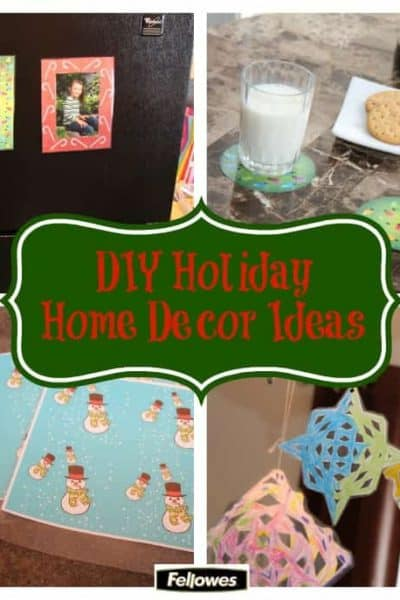 DIY Holiday Home Decor Ideas
