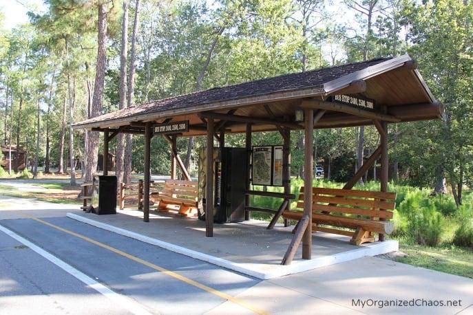 disney fort wilderness cabins transportation parks