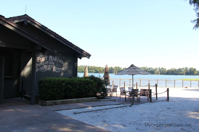 disney world fort wilderness marina boat transportation