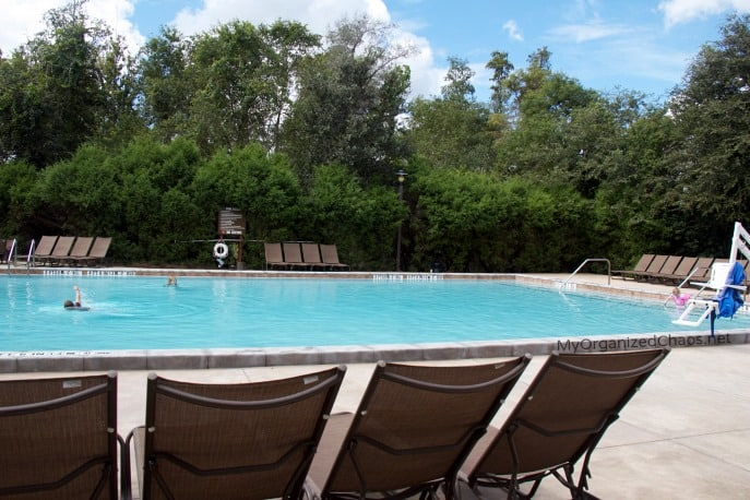 disney world fort wilderness pool