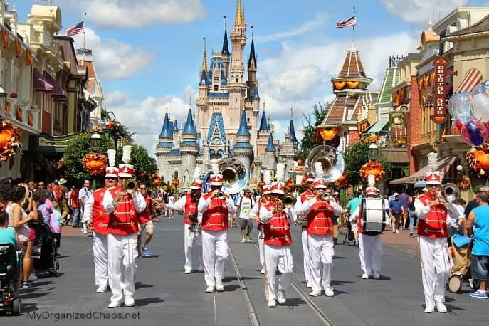 disney world halloween magic kingdom