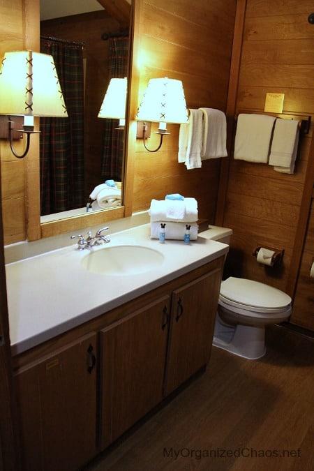 disney world wilderness cabins bathrooms
