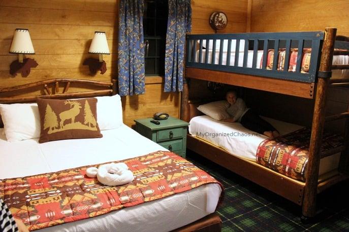 disney world wilderness cabins review bedroom