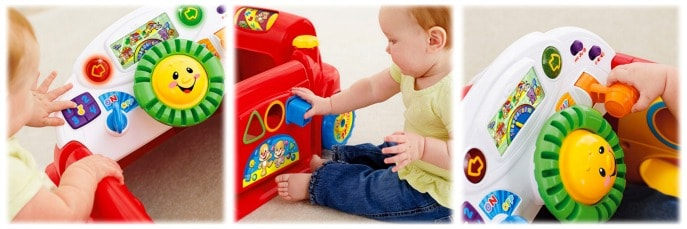 fisher price laugh and learn crawl around car fisherpricemom