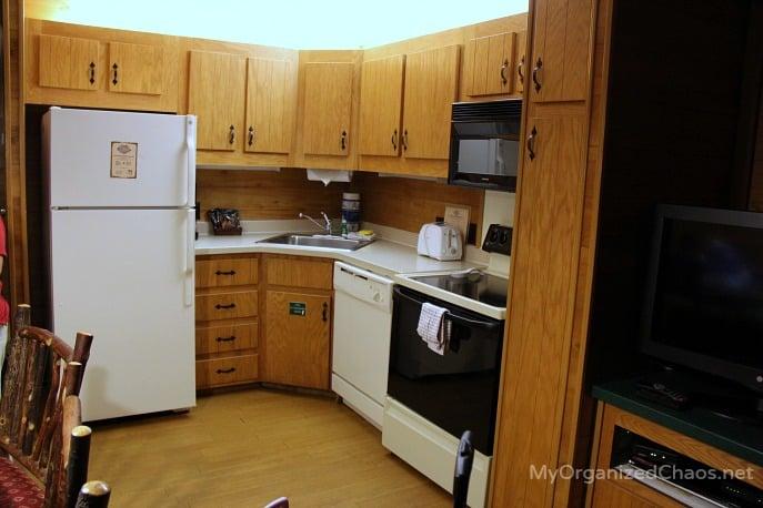 fort wilderness cabins kitchen