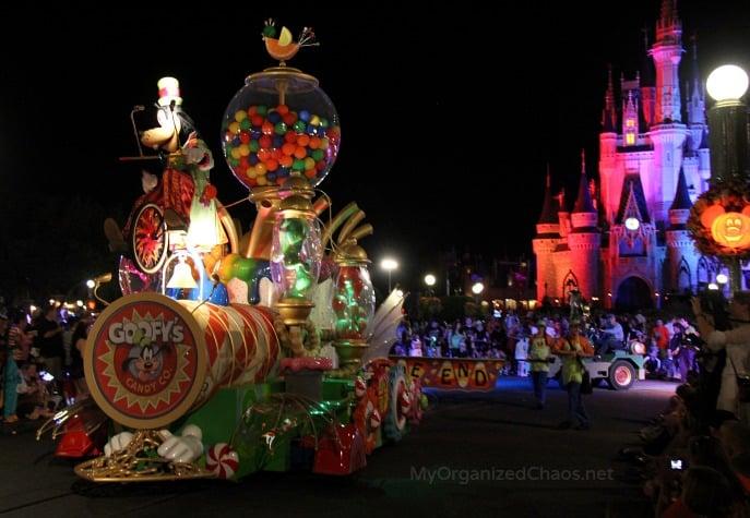 mickeys not so scary halloween party parade