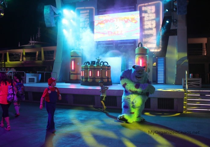 monsters ball dance party halloween disney world