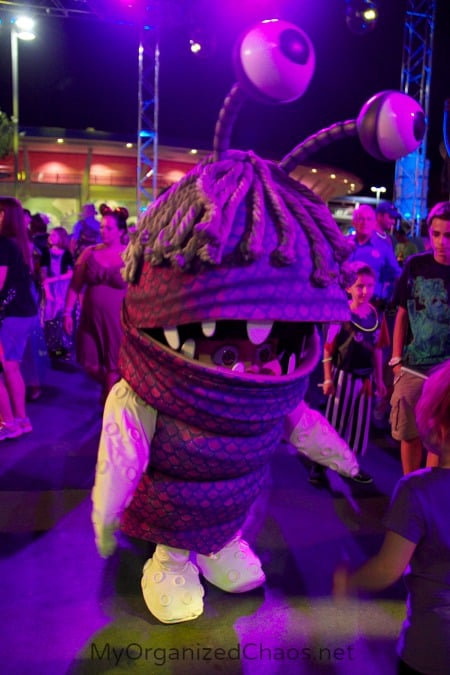 monsters ball party disney world disneyhaunt