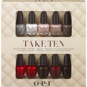OPI Holiday Gift Sets: Take Ten