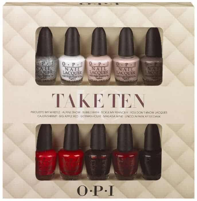 OPI Holiday Gift Sets: Take Ten