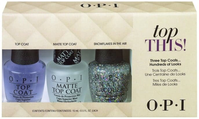 top this OPI 2013 holiday gift set giveaway