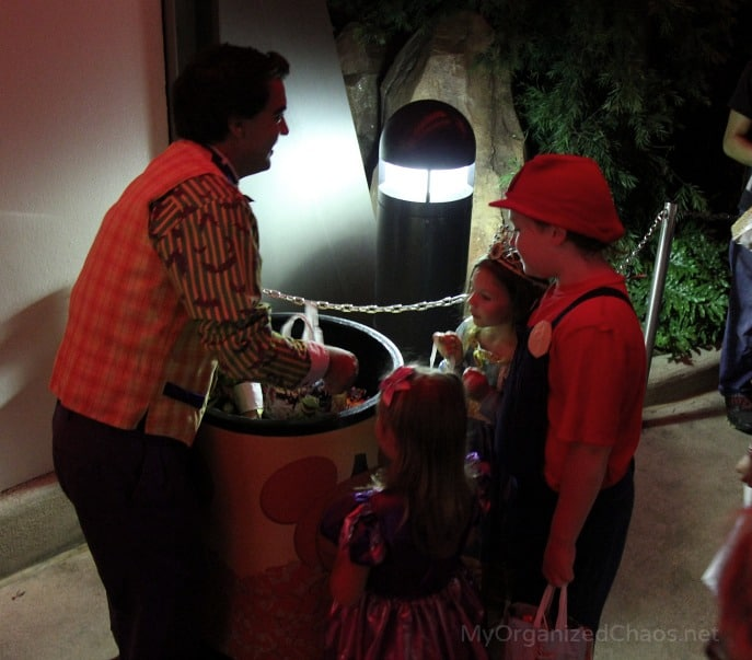 trick or treating mickeys not so scary halloween party