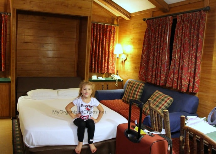 wilderness cabins murphy bed disney world