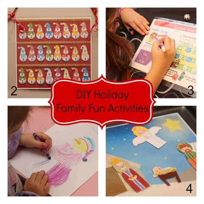 DIY Holiday Family Fun Activities