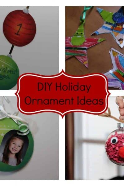 DIY Holiday Ornament Ideas