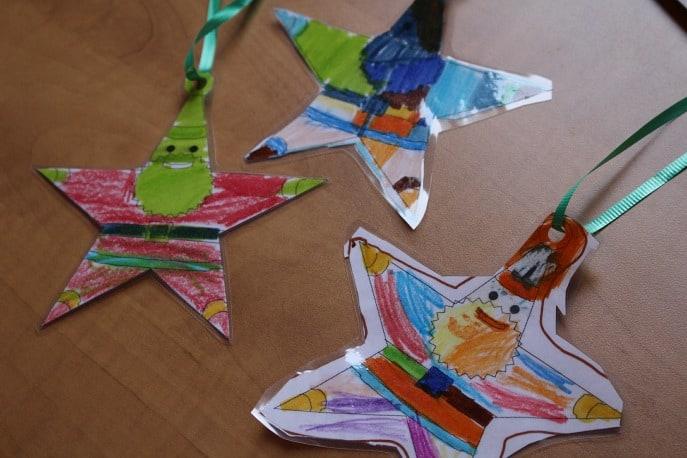 DIy-santa-star-ornament-fellowes
