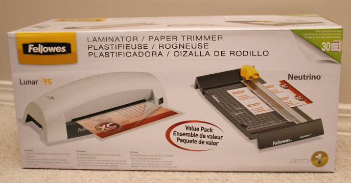 Fellowes Lunar Laminator & Trimmer Bundle