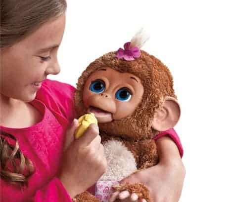 Furreal Friends Cuddles My Giggly Monkey-holiday