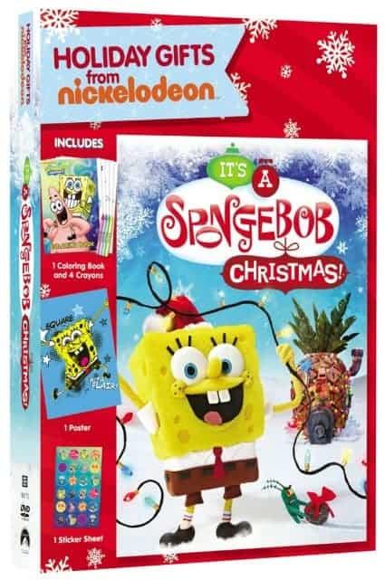 It's A Spongebob Christmas DVD Holiday Gift Set