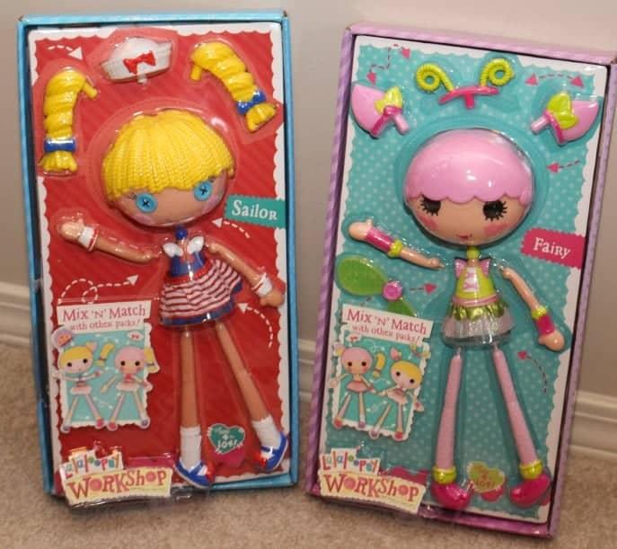Lalaloopsy Workshop dolls