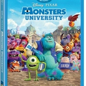 Monsters University on Blu-ray and DVD