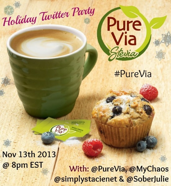 PureVia Canada Twitter Party