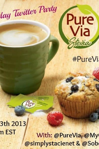 Come to the #PureVia Twitter Party!