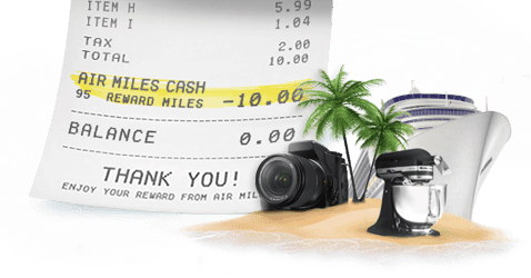 cash-rewards-dream-air-miles-holiday-shopping