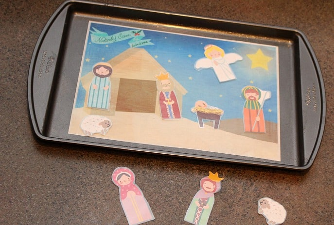 magnet-board-nativity-doll-scene-kids-activity-diy