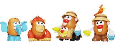 Playskool Mr. Potato Head Little Taters Big Adventures Spud Safari Set